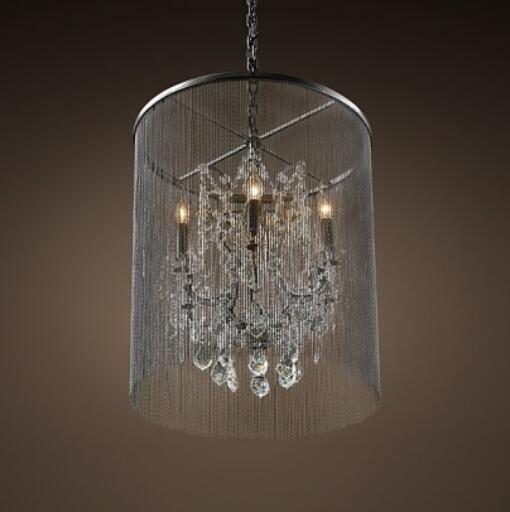 Black crystal pendant light loft k9 crystal hanging lamp high black crystal pendant light aloadofball Images