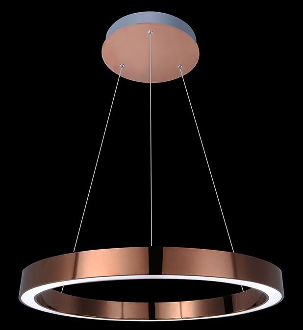 Rose gold led ring pendant light led ring pendant lamp led circle rose gold led ring pendant light aloadofball Images