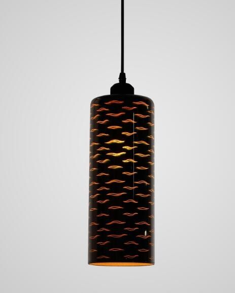 3D glass pendant lamp