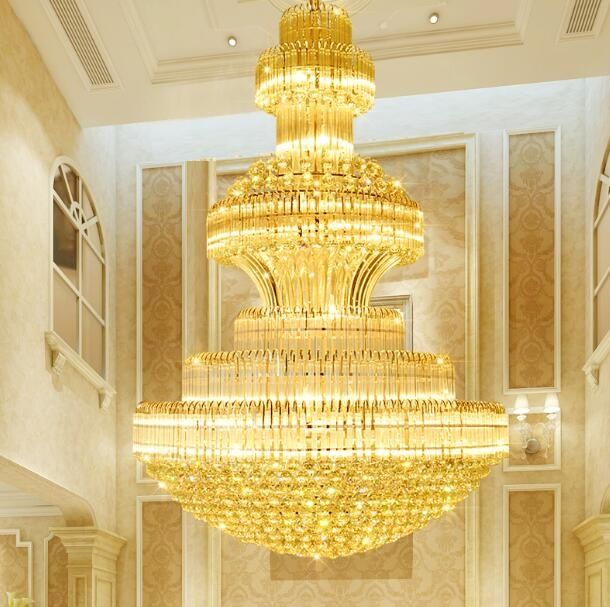 Hotel crystal ceiling lamp