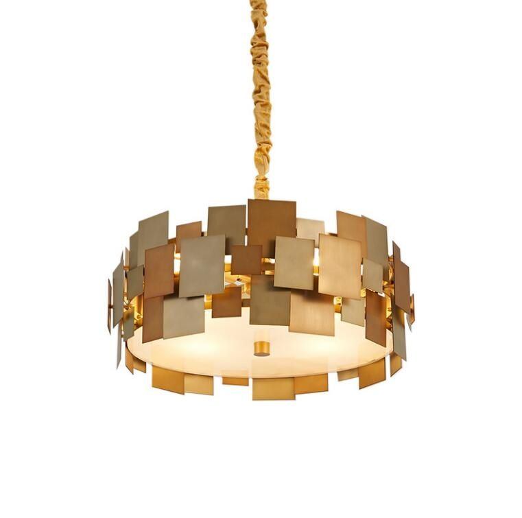 Creative gold pendant lamp