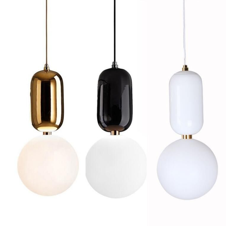 Creative glass hanging light