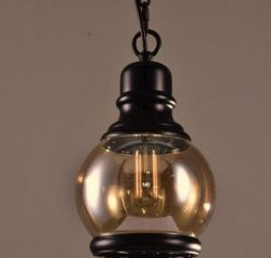 Loft glass pendant light