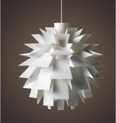 White PC pendant light