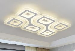 Rectangle LED acrylic ceiling light