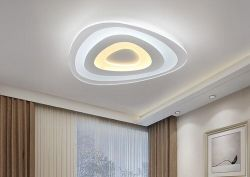 Thin acrylic LED ceiling lamp