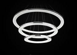 LED 3 rings pendant lighting