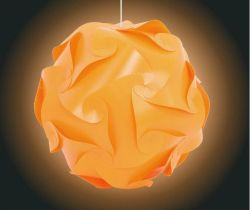 Colorful PVC pendant lamp