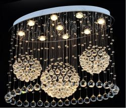 Creative crystal ceiling lamp