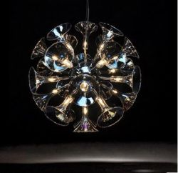 Morning glory pendant light