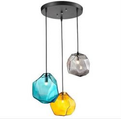 Creative glass pendant light