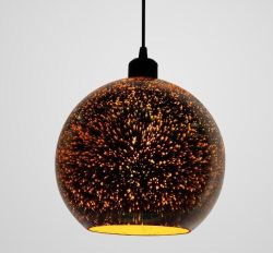 3D Glass pendant light