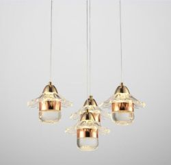 Modern acrylic pendant light
