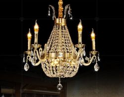 K9 crystal candle chandelier