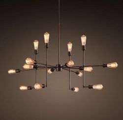 Loft bulb pendant light
