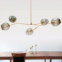 Countryside glass pendant light