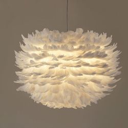 Plume pendant light