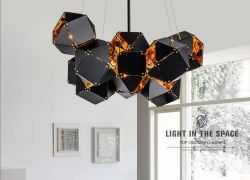 Post-modern hotel pendant light