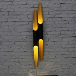 Aluminium rod wall sconce lamp