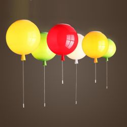 Balloon pendant light