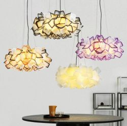 Acrylic pendant light