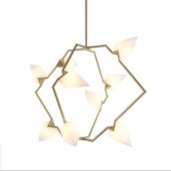 Polygon pendant lamp