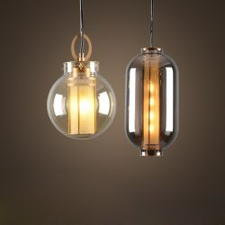 Northern Europe glass pendant lamp