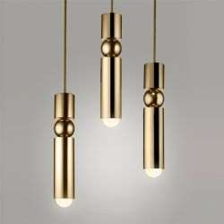 LED bar pendant light