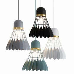 Badminton pendant light