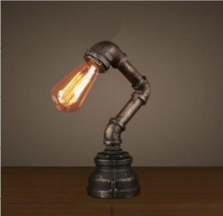 Industrail table lamp