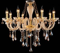 Graceful glass chandeliers