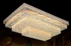 Rectangle luxury ceiling light